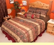 5 pc. Twin Size Southwest Comforter Set -Del Sierra Twin