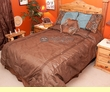 4 pc. Western Twin Size Comforter Set -Del Rio Twin