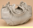 Southwestern Leather Pouch Purse  -Grey  (75)