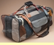 "Genuine Cowhide Duffle Bag 22"" -Multicolor  (b12)"