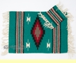 "Indian Style Wool Placemat & Coaster Set 13""x19"" (wpm7)"