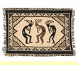 "Cotton Southwest Place Mat -Kokopelli 13""x19"""