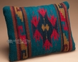 Woven Southwest Style Zapotec Indian Pillow 12x16 (n)