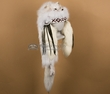 Pueblo Indian Native American Headdress - Arctic Fox (h6)