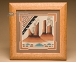 "Native American Navajo Sand Painting 10""  (sp15)"