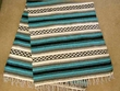 Southwestern Mexican Blankets - Sky 5'x7'  (mb7a)