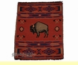 Southwest Jacquard Throw Blanket 50x60 -Buffalo  (12)