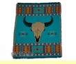 "Southwest Throw Blanket -Buffalo Skull  50""x60"""