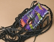 "Native American Painted Medicine Bag 3.5"" -Navajo (303)"