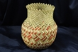 "Hand Woven Tarahumara Indian Basket 5.5""x7.5"" (U)"