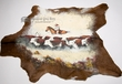 Painted Hair on Hide 38x31 -Cattle Drive (23)