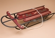 "Rustic Decor Replica Antique Sled 24"" -Lil Red Rocket"