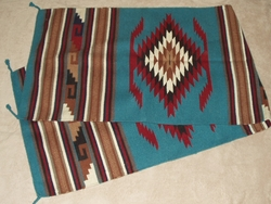 Western Wool Floor Runner Rug 30x96 (96112)