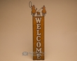 Rustic Western Metal Welcome Sign -Team Ropers  (w26)