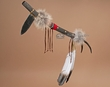 "Native American Antler Handle Tomahawk 26""  (t115)"