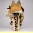 "Native American Apache Cradle Board 32"" -Red Fox  (11)"