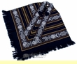 Otavalo Indian Woven Pancho -Blue (p2)