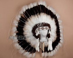Native American Indian Headdress -War Bonnet (2)