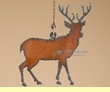 Cabin Style Metal Art Ceiling Fan Chain Pull -Deer   (13)