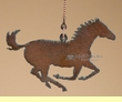 Western Metal Art Ceiling Fan Chain Pull -Horse  (15)