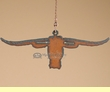 Western Metal Art Ceiling Fan Chain Pull -Longhorn  (16)