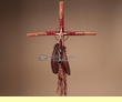 "Southwest Native American Cross -Tigua 24""  (7)"