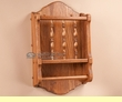 Amish Made Oak Paper Towel Bar Wall Rack  (wr10)