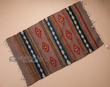 "Zapotec Indian Tapestry Rug 23""x39"" (107)"