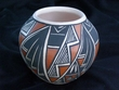 Native American Pottery Vase 4x3 -Acoma (121)