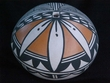 Native American Pueblo Pottery Seed Pot -Acoma (129)