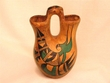"Hopi Indian Style Wedding Vase 8"" -Rainbird (155)"