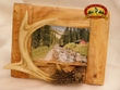 Fir Root & Faux Antler Picture Frame 4x6  (17)