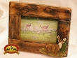 Southwest Style Fir Root Picture Frame 4x6 -Deer (20)