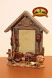 Rustic Barn Wood Cabin Picture Frame 4x6 -Hunting