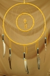 "Native American Double Dream Catcher 12"" -Navajo (12-8)"