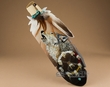 Native American Painted Cedar Feather -On The Wind
