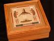 Native American Navajo Sand Painting -Honey Oak Box  (2)