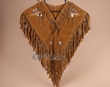 Indian Style Chaleco Dance Shirt -Bear Head  (c15)
