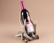 Faux Deer Antler Single Bottle Wine Rack  (aa13)