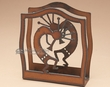 Southwestern Metal Art Napkin Holder -Kokopelli  (SP2)