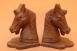 "Western Iron Horse Head Bookends Set 6""  (34)"