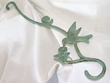 "Iron Art Cast Patio/Garden Hanger 17"" -Hummingbird"