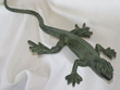 Iron Art Faux Copper Lizard 18""