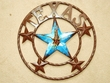 "Rustic Metal Texas Star 16"" - Eagle  (32)  Clearance"