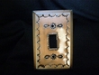 Antiqued Punched Tin Switch Cover -Single