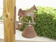 Old West Cast Iron Bell - Horse