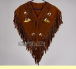 Indian Style Chaleco Dance Shirt -Teepee  (c17)