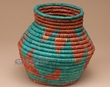 "Pueblo Indian Style Olla Basket 6"" (a34)"