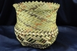 "Tarahumara Indian Woven Basket  7""x6.5"" (J)"
