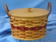 Handmade Amish Basket 10x6 -Cookie Basket  (EM2)